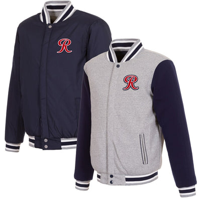 Tacoma Rainiers Navy JH Bomber Reversible Jacket