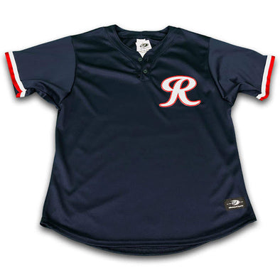 Tacoma Rainiers Replica Navy BP Jersey