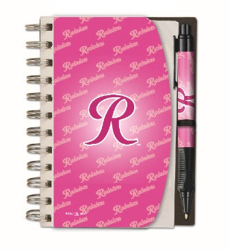 Tacoma Rainiers Pink R Autograph Book
