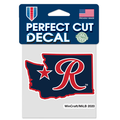 Tacoma Rainiers R State Decal
