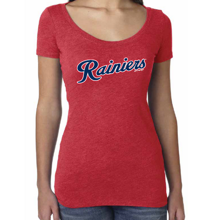 Tacoma Rainiers Red SAAG Women's Scoop