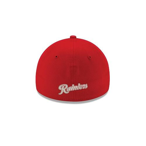 Tacoma Rainiers 39Thirty Red R Stretch Fit Cap