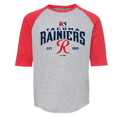 Tacoma Rainiers Red Toddler Raglan Tee