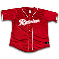 Tacoma Rainiers Replica Youth Red Alt Jersey