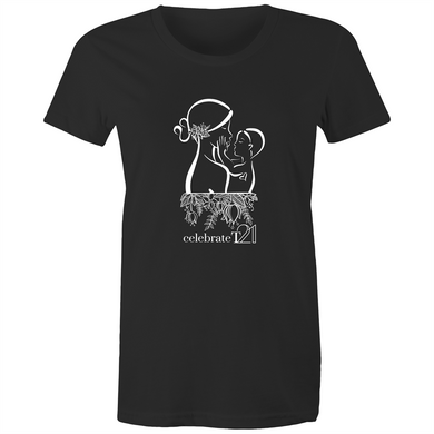 'Mother & Son' in Black or White - Sportage Surf - Womens T-shirt