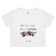 Load image into Gallery viewer, Arrow Revolution – Assorted Colours - AS Colour - Womens Crop Tee