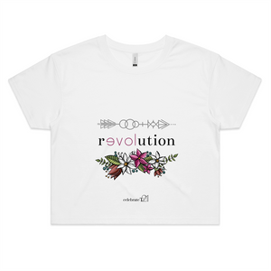 Arrow Revolution – Assorted Colours - AS Colour - Womens Crop Tee