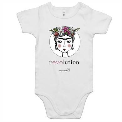 Frida Revolution –AS Colour Mini Me - Baby Onesie Romper