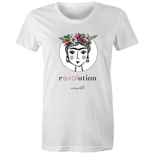 Load image into Gallery viewer, Frida Revolution – Assorted Colours - AS Colour - Women's Maple Tee