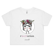 Load image into Gallery viewer, Frida Revolution – Assorted Colours - AS Colour - Womens Crop Tee