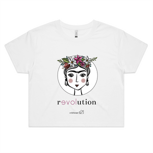 Frida Revolution – Assorted Colours - AS Colour - Womens Crop Tee