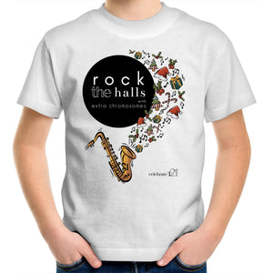 Rock The Halls - 2 designs Sportage Surf - Kids Youth T-Shirt