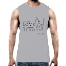 Load image into Gallery viewer, Father and Son - AS Colour Barnard - Mens Tank Top Tee