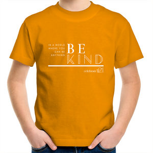 Be Kind in Orange for WDSD & Harmony Day - Sportage Surf - Kids Youth T-Shirt