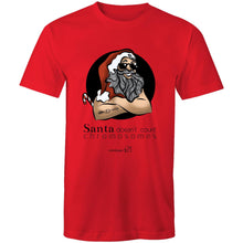 Load image into Gallery viewer, Christmas - 'Santa Doesn't Count Chromosomes'  Sportage Surf - Mens T-Shirt