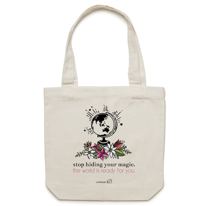 *Alexis Schnitger Design - AS Colour - Carrie - Canvas Tote Bag