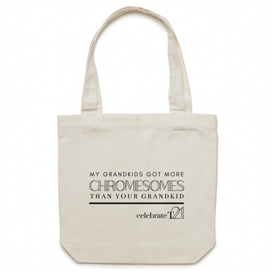 My Grandkid - AS Colour - Carrie - Canvas Tote Bag
