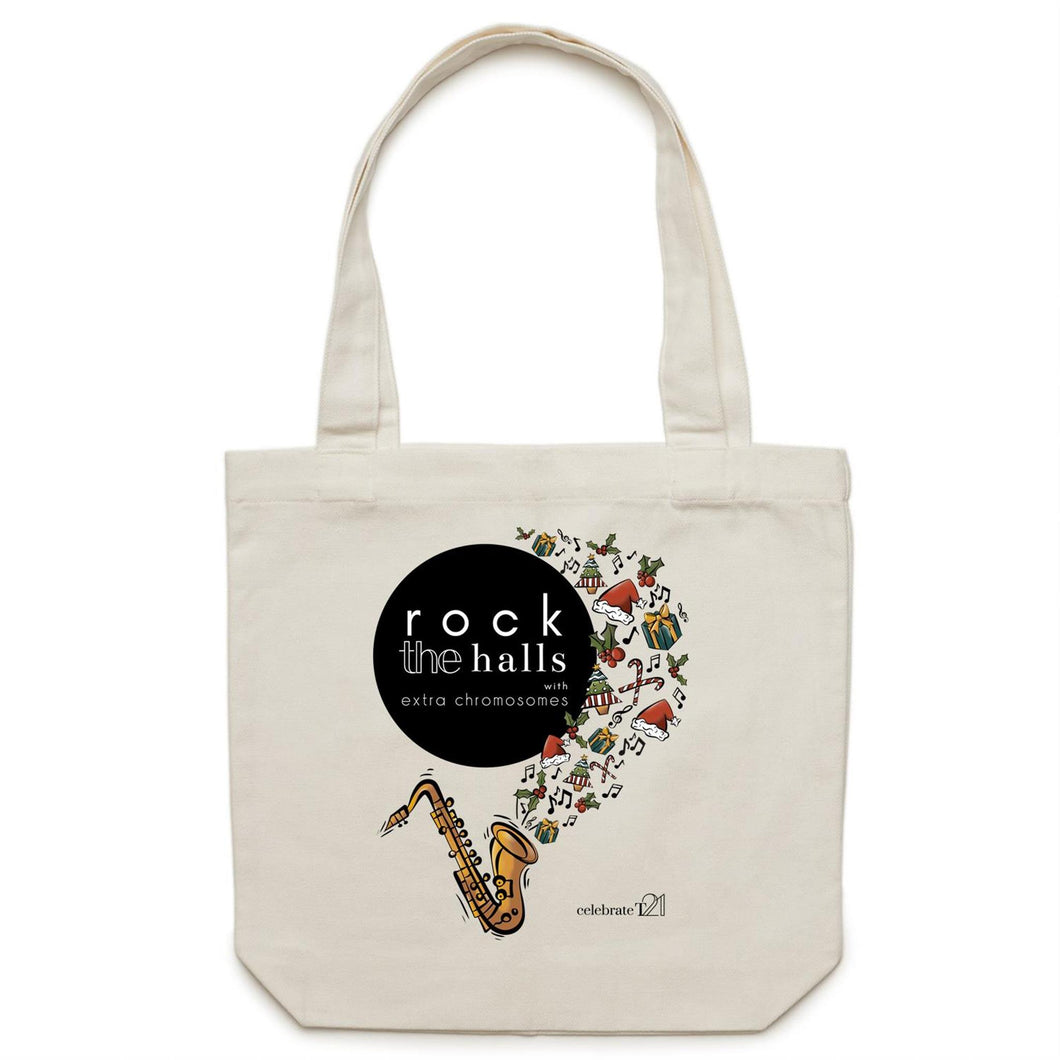 Rock The Halls  AS Colour - Carrie - Canvas Tote Bag