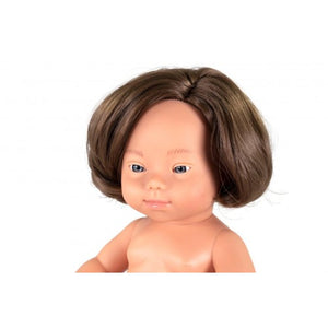 Anatomically Correct Baby Dolls with Down Syndrome , 38 cm 4 STYLES