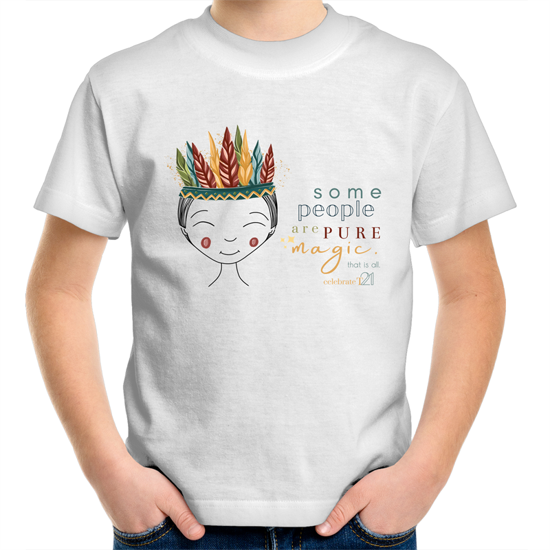 Some People Boy – AS Colour Kids Youth Crew T-Shirt