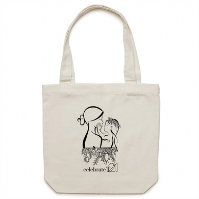 Mother and Daughter - AS Colour - Carrie - Canvas Tote Bag