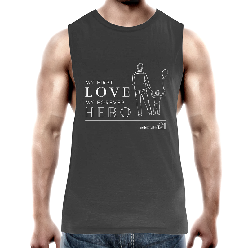 Father and Son - AS Colour Barnard - Mens Tank Top Tee
