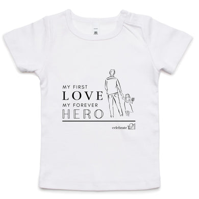Father and Daughter - AS Colour - Infant Wee Tee