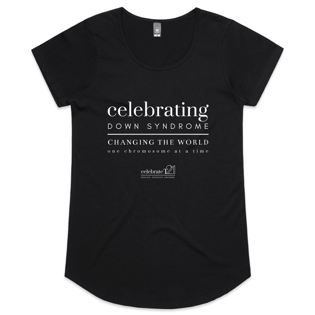 Celebrating DS - AS Colour Mali - Womens Scoop Neck T-Shirt