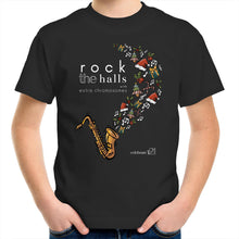 Load image into Gallery viewer, Rock The Halls - 2 designs Sportage Surf - Kids Youth T-Shirt