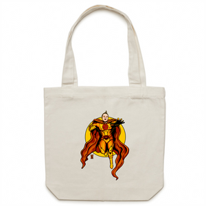 Custom Order - Super Lincoln - AS Colour - Carrie - Canvas Tote Bag
