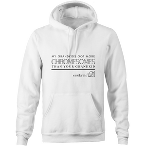 'My Kid' AS Colour Stencil - Pocket Hoodie Sweatshirt