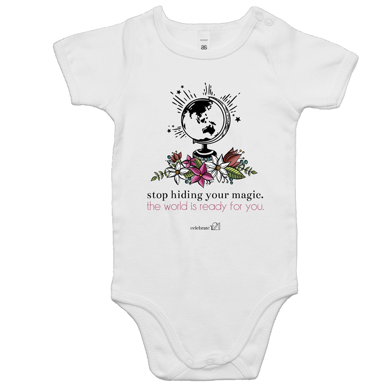 The World Is Ready -AS Colour Mini Me - Baby Onesie Romper