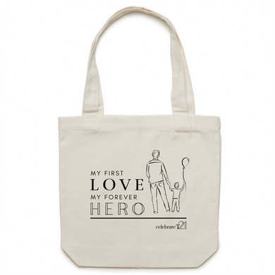 Father and Son - AS Colour - Carrie - Canvas Tote Bag