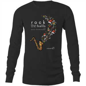 Rock The Halls - 2 designs Sportage Hawkins - Long Sleeve T-Shirt