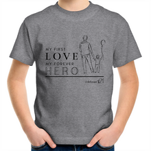 Load image into Gallery viewer, Father and Son - AS Colour Kids Youth Crew T-Shirt