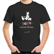 Load image into Gallery viewer, Mama Lama -  Assorted Colours– AS Colour Kids Youth Crew T-Shirt