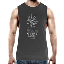 Load image into Gallery viewer, Pineapple Crown - AS Colour Barnard - Mens Tank Top Tee
