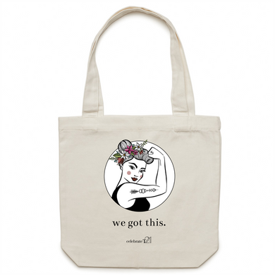 We Got This – AS Colour - Carrie - Canvas Tote Bag