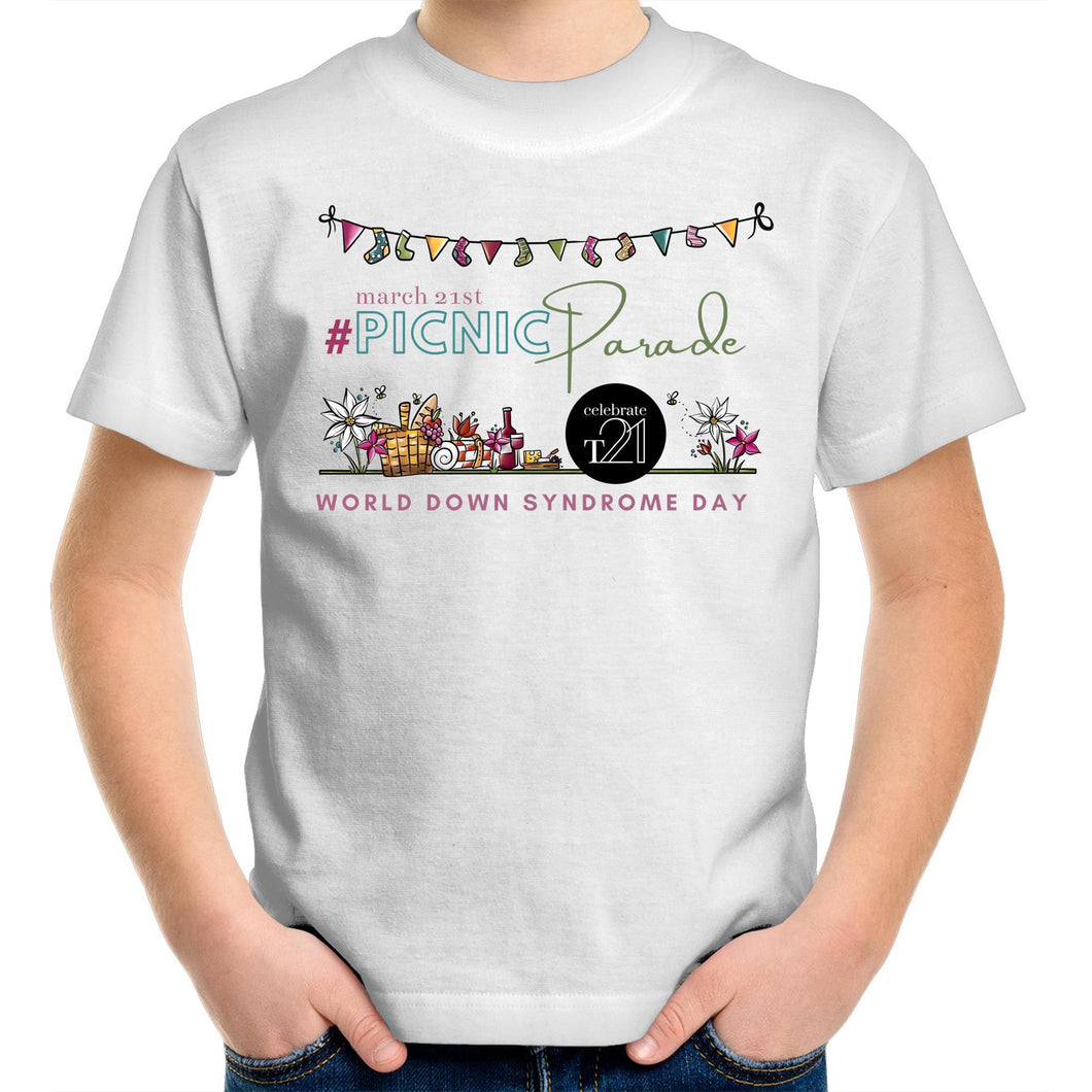 World Down Syndrome Day EVENT shirt - Sportage Surf - Kids Youth T-Shirt