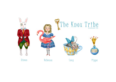 My Tribe Personalised Print ALICE