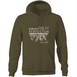'OTP Flowers' - AS Colour Stencil - Pocket Hoodie Sweatshirt