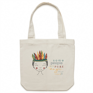 Some People Boy –AS Colour - Carrie - Canvas Tote Bag
