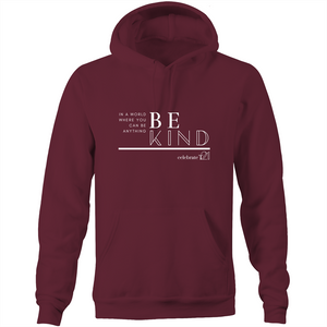 Be Kind - AS Colour Stencil - Pocket Hoodie Sweatshirt