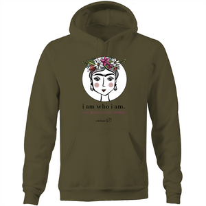 Frida I Am – Assorted Colours - AS Colour Stencil - Pocket Hoodie Sweatshirt