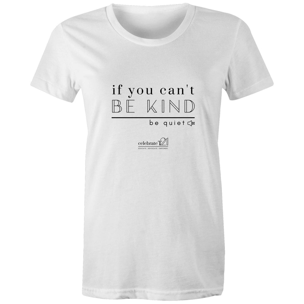 Be Quiet - AS Colour - Women's Maple Tee