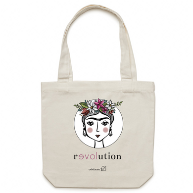 Frida Revolution – AS Colour - Carrie - Canvas Tote Bag