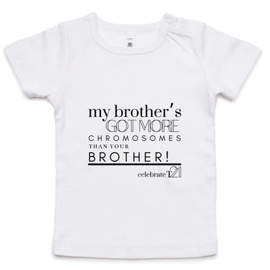 'My Brother' AS Colour - Infant Wee Tee