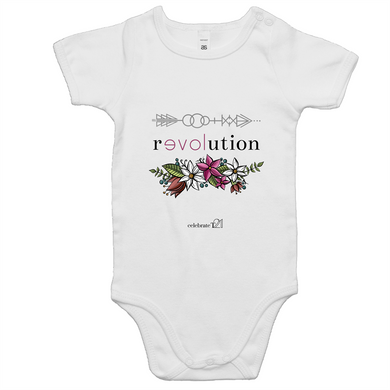 Arrow Revolution -AS Colour Mini Me - Baby Onesie Romper