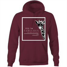 Load image into Gallery viewer, 'Giraffe' - AS Colour Stencil - Pocket Hoodie Sweatshirt