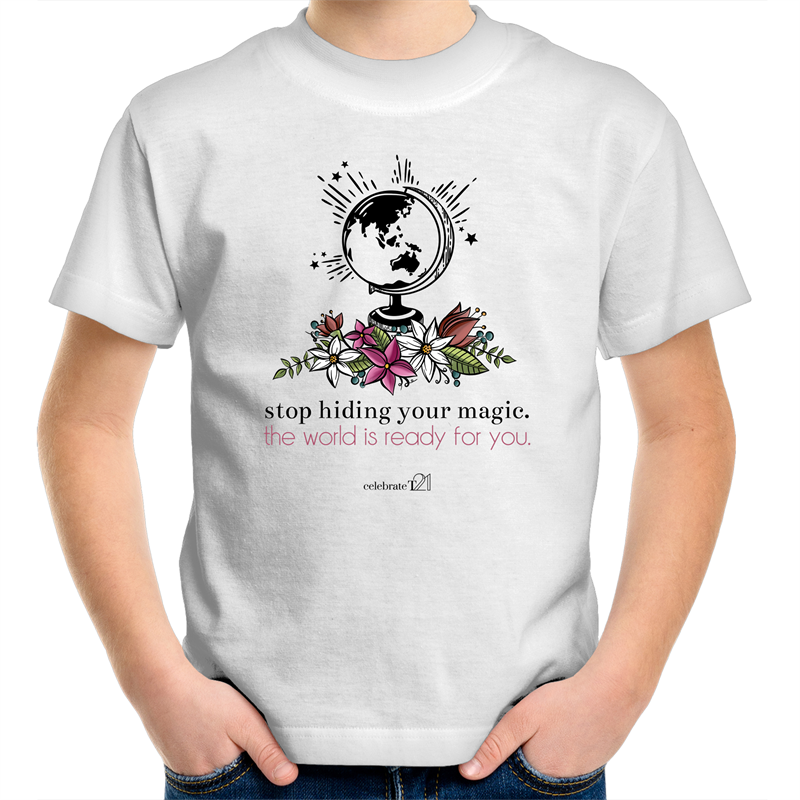 The World Is Ready -Sportage Surf - Kids Youth T-Shirt